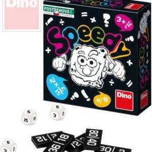 DINO Hra postřehová Speedy matematická malá *SPOLEČENSKÉ HRY*