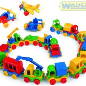 WADER Kid Car vozítka 18 druhů 60000