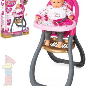 SMOBY Židlička jídelní Byby Nurse pro panenky