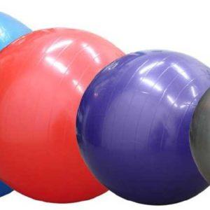 ACRA Míč gymnastický 55 cm na cvičení GYMBALL