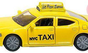 SIKU Blister TAXI US New York Žluté Dodge KOV