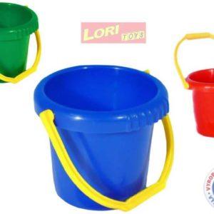 LORI 207 Kyblíček na písek PLAST 3 barvy