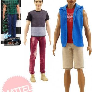 MATTEL BRB Barbie panák trendy model Ken 32cm módní obleček 3 druhy