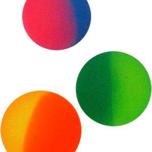Hopík duhový 45 mm Skákací míček barevný Dóza 3 barvy