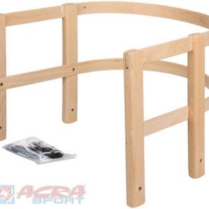 ACRA Ohrádka na sáně (sáňky) dřevěná s kovovým kováním v sáčku