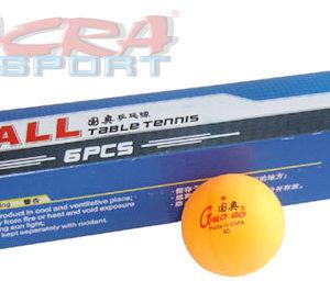 ACRA Míčky na pingpong 40 mm bílé
