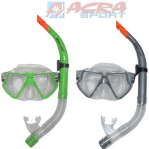 ACRA Sada potápěčská, brýle POTÁPĚČSKÉ a šnorchl