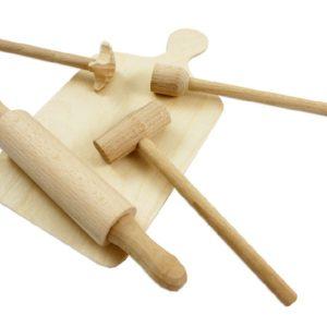 DŘEVO Kuchyňka sada malá dřevěná * DŘEVĚNÉ HRAČKY *