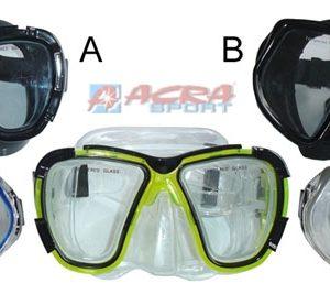 ACRA Potápěčská maska do vody pro dospělé senior Brother