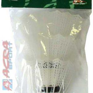 ACRA Košíky na badminton Brother Sada 3 ks v sáčku PLAST