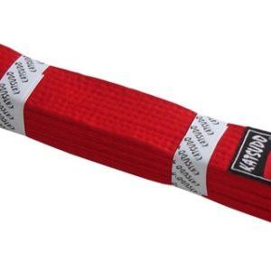 ACRA Pásek ke kimonu KATSUDO červený