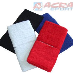 ACRA Potítka barevná tenisová set 2ks (1 pár) 4 barvy