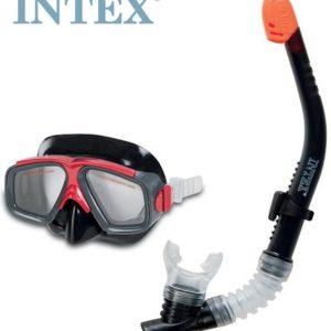 INTEX Potápěčské BRÝLE A ŠNORCHL od 8 let na potápění do vody