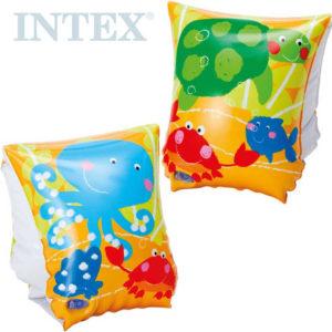 INTEX Dětské nafukovací rukávky do vody Rybičky 23 x 15cm 1 pár