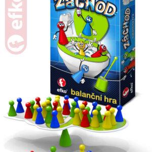 EFKO Hra balanční Záchod *SPOLEČENSKÉ HRY*