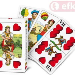 EFKO Hra Karty Mariášové dvouhlavé v krabičce *SPOLEČENSKÉ HRY*