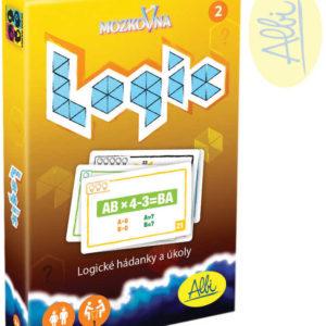 ALBI HRA Mozkovna Logic 2 pro děti karetní hádanky interaktivní