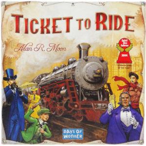ADC Hra Ticket to Ride (Hra roku 2014) Budování železničních tratí