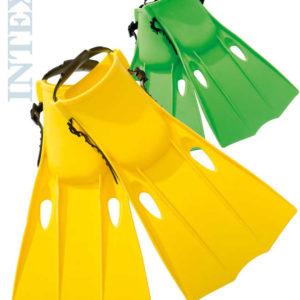 INTEX Ploutve střední vel.M (EU 38-40) na potápění do vody set 1 pár 2 barvy 55937