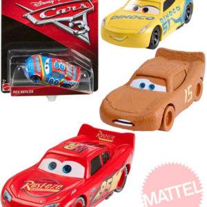MATTEL Autíčko velké Cars 3 (Auta) jednotlivé různé druhy na kartě plast