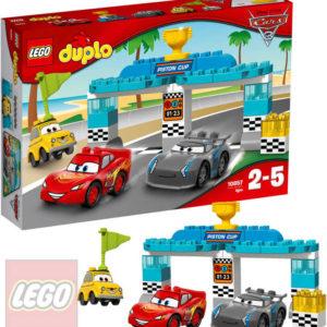 LEGO DUPLO Závod o zlatý píst Cars (Auta) 10857 STAVEBNICE