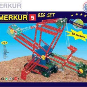 MERKUR 5 Big set * KOVOVÁ STAVEBNICE *