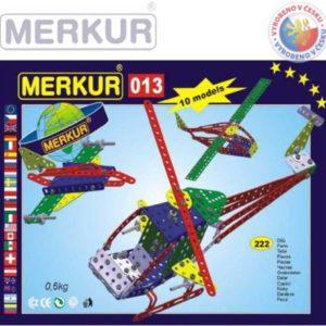 MERKUR 013 Vrtulník HELIKOPTÉRA * KOVOVÁ STAVEBNICE *