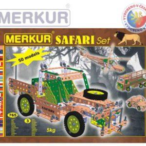 MERKUR 125 Safari set * KOVOVÁ STAVEBNICE *