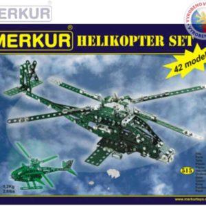 MERKUR Helikoptér set NEW * KOVOVÁ STAVEBNICE *