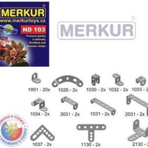 MERKUR ND103 Pásky a oblouky náhradní díly pro stavebnice