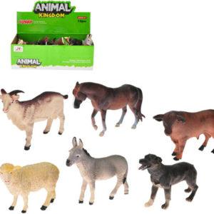 Zvířátko plastové farma 8-10cm