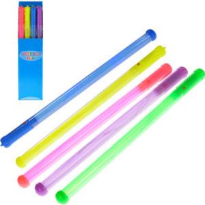 Hůlka pro roztleskávačky 46cm na baterie svítící 5 barev Světlo plast
