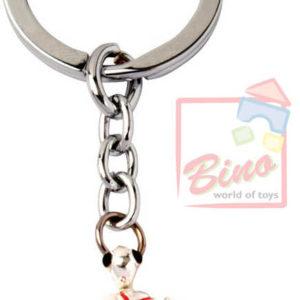BINO Přívěšek zdobený s drahokamy želva 10cm na klíče kov v sáčku