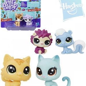 HASBRO LPS Littlest Pet Shop zvířátko set 2ks dekorovací 1.serie různé druhy plast
