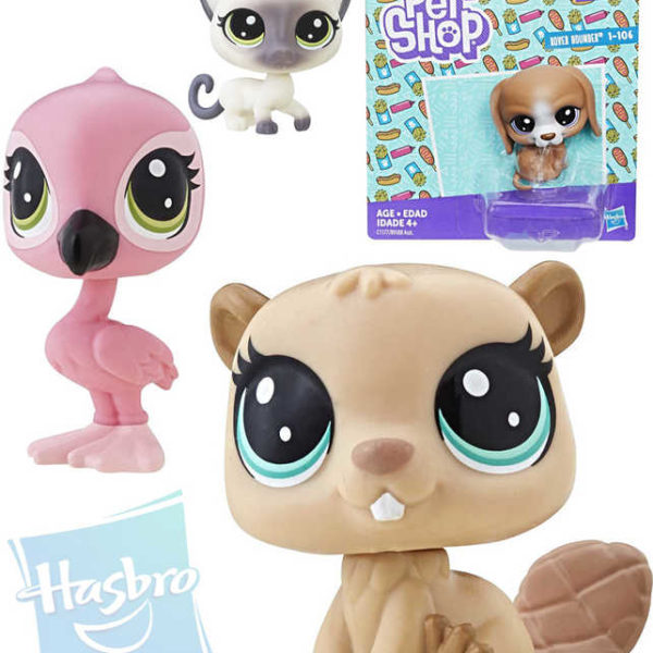 HASBRO LPS Littlest Pet Shop zvířátko samostatné dekorovací 1.serie různé druhy plast