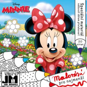 JIRI MODELS Malování pro nejmenší MINNIE Mouse