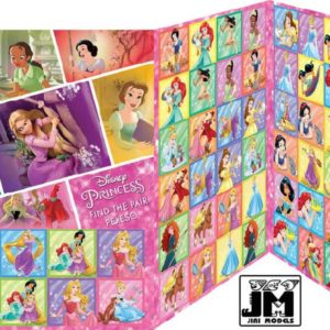 JIRI MODELS Hra pexeso Disney Princezny