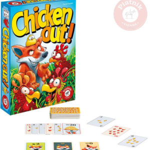 PIATNIK Hra postřehová Chicken Out! *SPOLEČENSKÉ HRY*