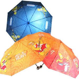 Deštník dětský Simpsonovi 100cm mechanický 3 druhy