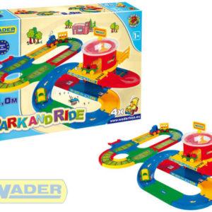 WADER Kid cars přestupní stanice dráha 5 m 51792