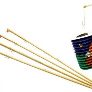 Hůlka (držák) na lampión dřevo