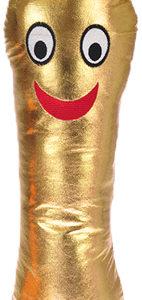 PLYŠ Bludišťák střední 50cm s kapsičkou zlatý maskot *PLYŠOVÉ HRAČKY*