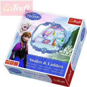 TREFL Hra Hadi a žebříky Frozen (Ledové Království) *SPOLEČENSKÉ HRY*