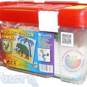 VISTA Mozaika COLOR Jumbo 4200 dílků STAVEBNICE