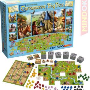 MINDOK HRA Základní + 11 rozšíření Carcassonne Big Box 2017 *SPOLEČENSKÉ HRY*