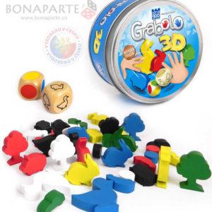 BONAPARTE Hra postřehová Grabolo 3D SPOLEČENSKÉ HRY