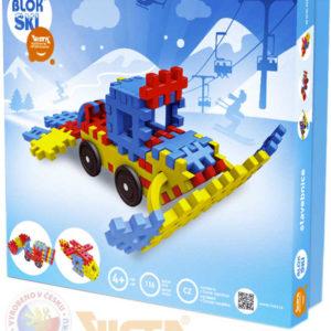 VISTA Blok Ski plastová STAVEBNICE 116 dílků v krabici