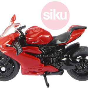 SIKU Motorka červená Ducati Panigale 1299 model kov 1385