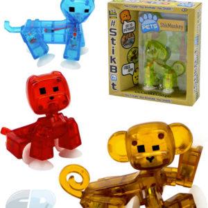 EP line Zvířátko StikBot v krabičce free app zdarma 4 druhy 4 barvy plast