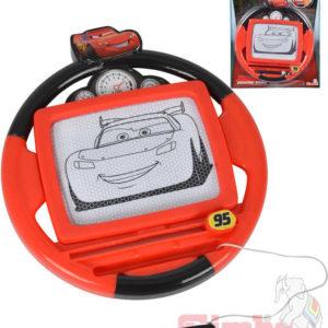 SIMBA Tabulka magická kreslicí volant 18cm Cars 3 (Auta) plast
